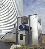 Grain Bin Fan Hanging Kit